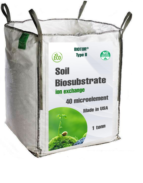 soil biosubstrat 1 tonn