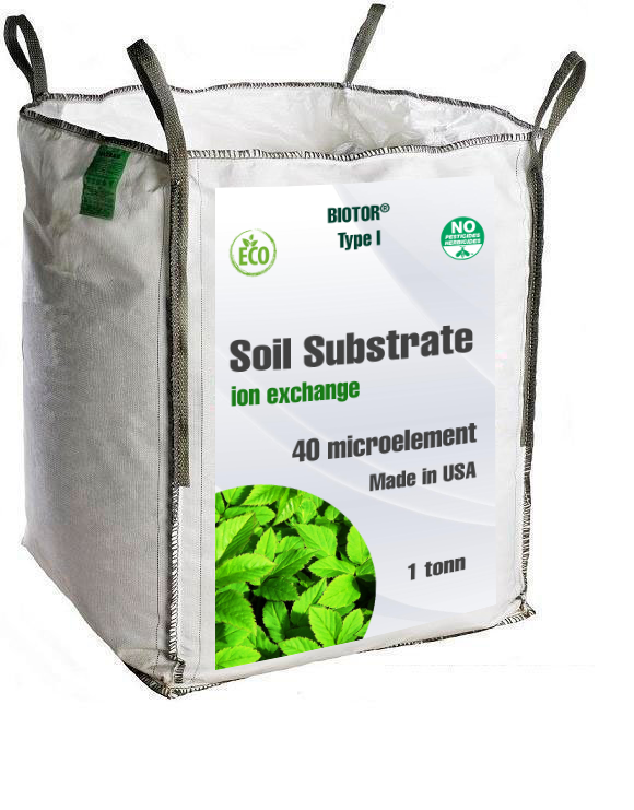soil substrat 1 tonn